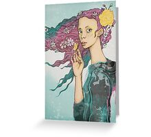 Flower Child 2.0 Greeting Card