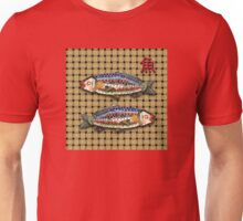 Antique Japanese Fish Brooch Unisex T-Shirt