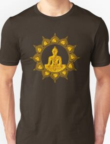 Buddha Meditation, Lotus Flower, Anahata, Heart Chakra T-Shirt