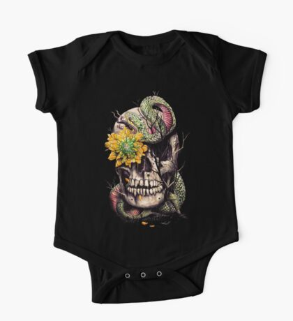 Snake and Skull One Piece - Short Sleeve