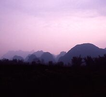 Peaks of Yangshuo by Joanne Piechota