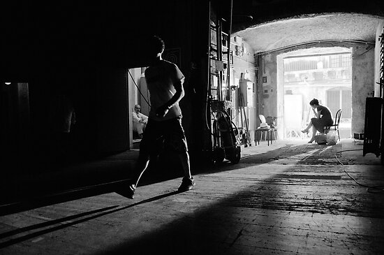 Back Stage At Teatro Opera Bellini Catania by rorycobbe
