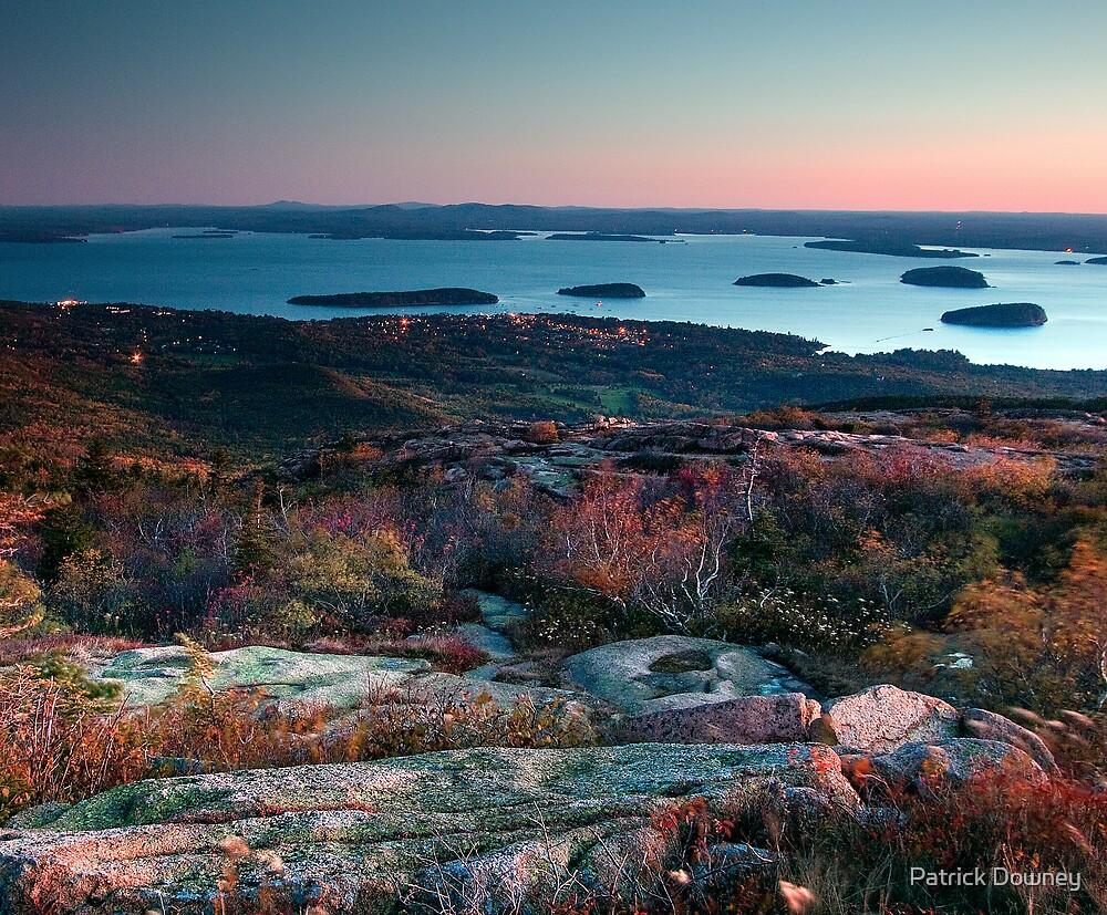 Dawn at Cadillac - Acadia National Park by Patrick Downey