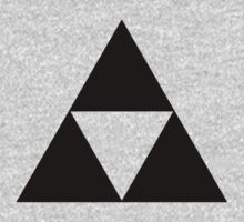 Triforce - Ancient Magical Symbol, Sierpinski Triangle Kids Tee