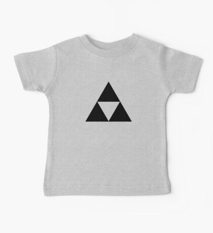 Triforce - Ancient Magical Symbol, Sierpinski Triangle Baby Tee