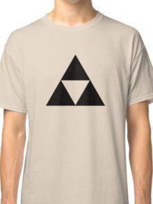 Triforce - Ancient Magical Symbol, Sierpinski Triangle Classic T-Shirt