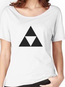 Triforce - Ancient Magical Symbol, Sierpinski Triangle Women's Relaxed Fit T-Shirt