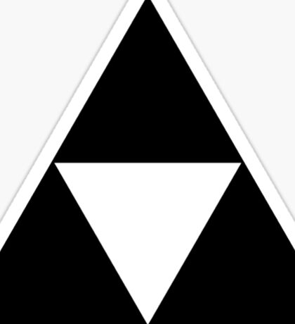 Triforce - Ancient Magical Symbol, Sierpinski Triangle Sticker