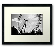 London Eye. Framed Print