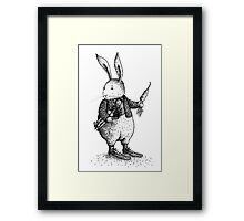 Rabbit - Boy Framed Print
