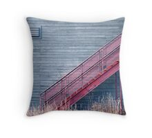 18 steps Throw Pillow