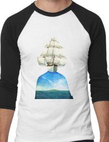 Explorer's Mind Men's Baseball ¾ T-Shirt
