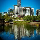 Brisbane Reflections by Keith G. Hawley