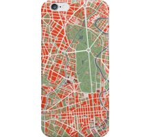 Berlin map classic iPhone Case/Skin
