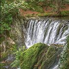 Dyfi Furnace waterfall by Keith Trivett