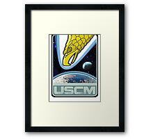 USCM squad of ultimate bad*sses Framed Print