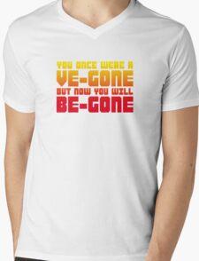Ve-gone Be-gone Mens V-Neck T-Shirt