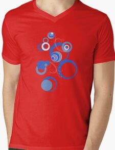Retro Bubbles Seventies II Mens V-Neck T-Shirt