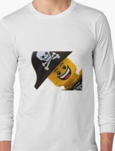 Happy Lego Pirate Long Sleeve T-Shirt