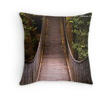 Suspended, Minnamurra, NSW Throw Pillow