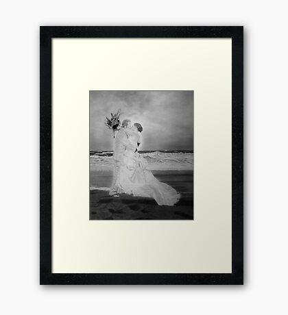 Anniversary Portrait Framed Print