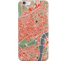 London city map iPhone Case/Skin