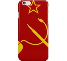 MOUSE PEN STAR CCCP iPhone Case/Skin