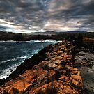 Obstacle Course, Bombo, NSW by Malcolm Katon