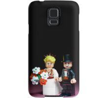 Lego Bride and Groom ( with top hat ) Samsung Galaxy Case/Skin