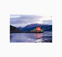 Eilean Donan castle in winter Unisex T-Shirt