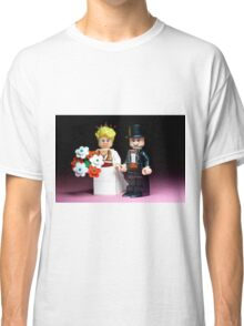 Lego Bride and Groom ( with top hat ) Classic T-Shirt