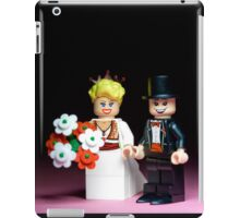 Lego Bride and Groom ( with top hat ) iPad Case/Skin