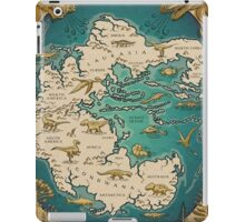 map of the supercontinent Pangaea iPad Case/Skin
