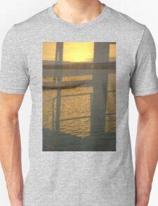 Tranquil Ocean Landscape Reflection Unisex T-Shirt