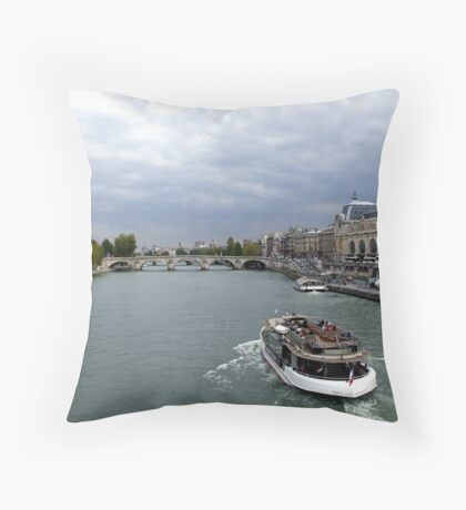 Boat Tripper Throw Pillow