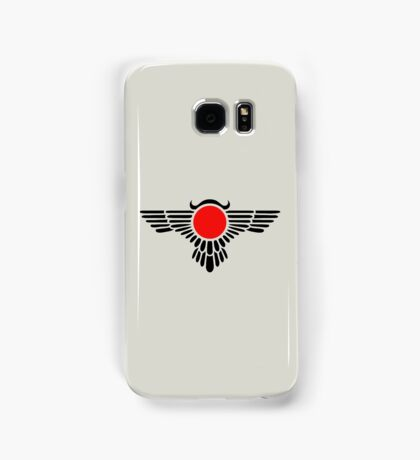 Egyptian Sun Disc, Winged Globe, Symbol of the perfected soul,  Samsung Galaxy Case/Skin