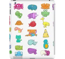 Furry Monsters iPad Case/Skin