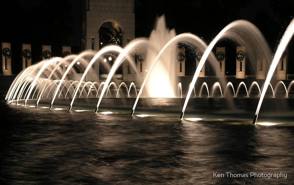 Memorial at Night 4 by Ken Thomas Photography
