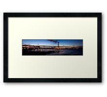 Forth Road Bridge Panorama Framed Print
