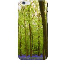 Amazing Bluebell Wood - Panorama iPhone Case/Skin