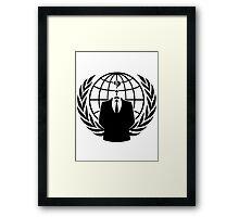 Anon Framed Print