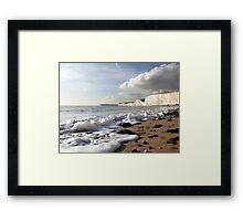 A Light Froth Framed Print