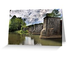 Erie Canal Aqueduct  Greeting Card