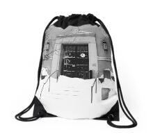 Winter Weather Snow Storm Drawstring Bag