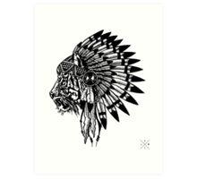 Chief of Pride Art Print