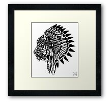 Chief of Pride Framed Print