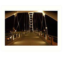 Bridge to higher education Art Print
