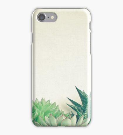Succulent Forest iPhone Case/Skin