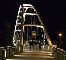 Walking Bridge 2 by Leonard Flagg