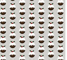 Little Christmas Puddings by Lisa Marie Robinson